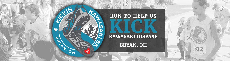 Kickin Kawasaki 5K in Bryan, Ohio